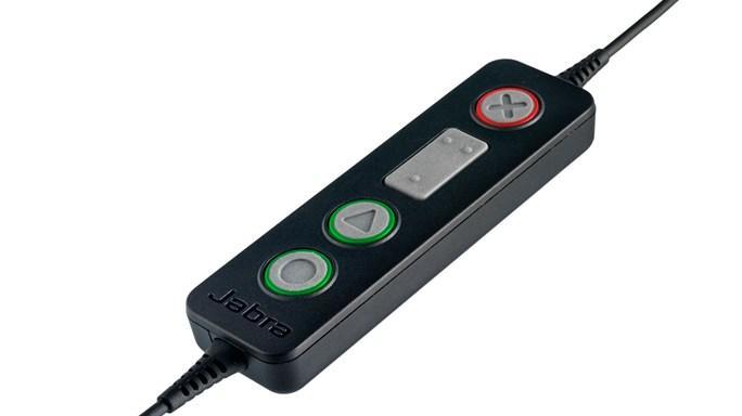 Jabra Biz 2300 Duo USB UC Hodesett Hodebånd USB Type-A Svart