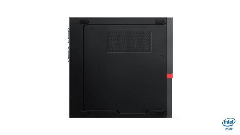 Lenovo ThinkCentre M920 DDR4-SDRAM i5-8500T mini PC 8th gen Intel® Core™ i5 8 GB 256 GB SSD Windows 10 Pro Svart