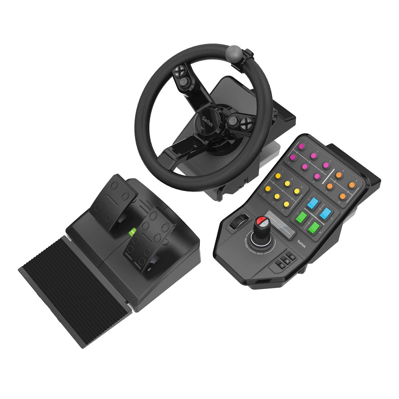 Logitech 945-000062 spillkontroller Svart Ratt + pedaler Analog/digital