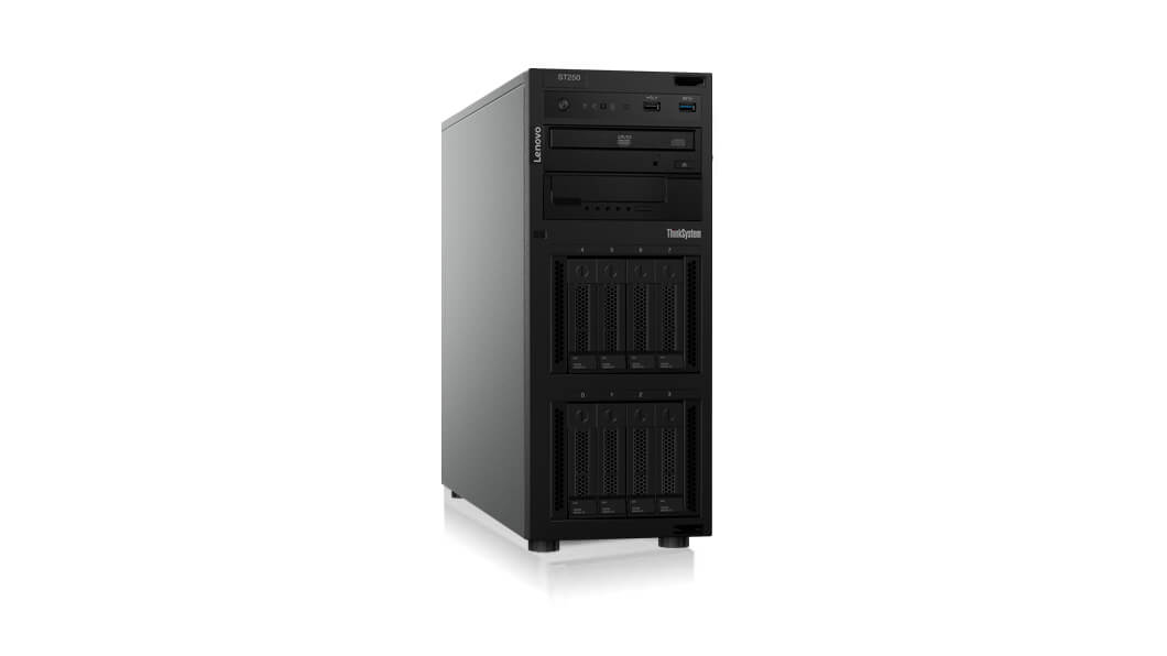 Lenovo ThinkSystem ST250 server 3,6 GHz 16 GB Tårn (4U) Intel Xeon E 550 W DDR4-SDRAM