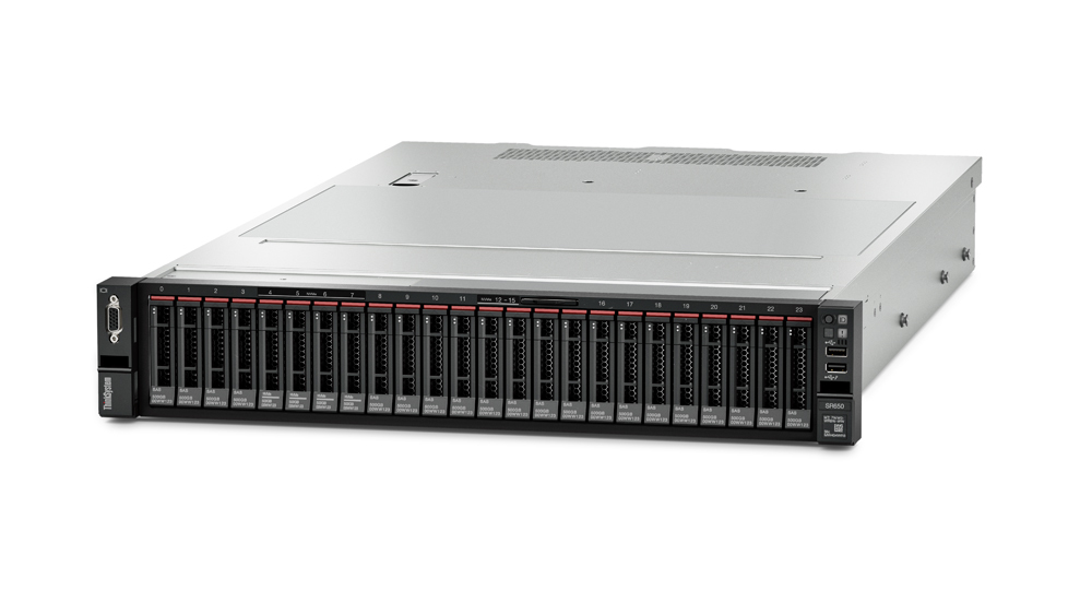 Lenovo ThinkSystem SR650 server 396 TB 2,8 GHz 16 GB Rack (2U) Intel® Xeon® Gold 1100 W DDR4-SDRAM