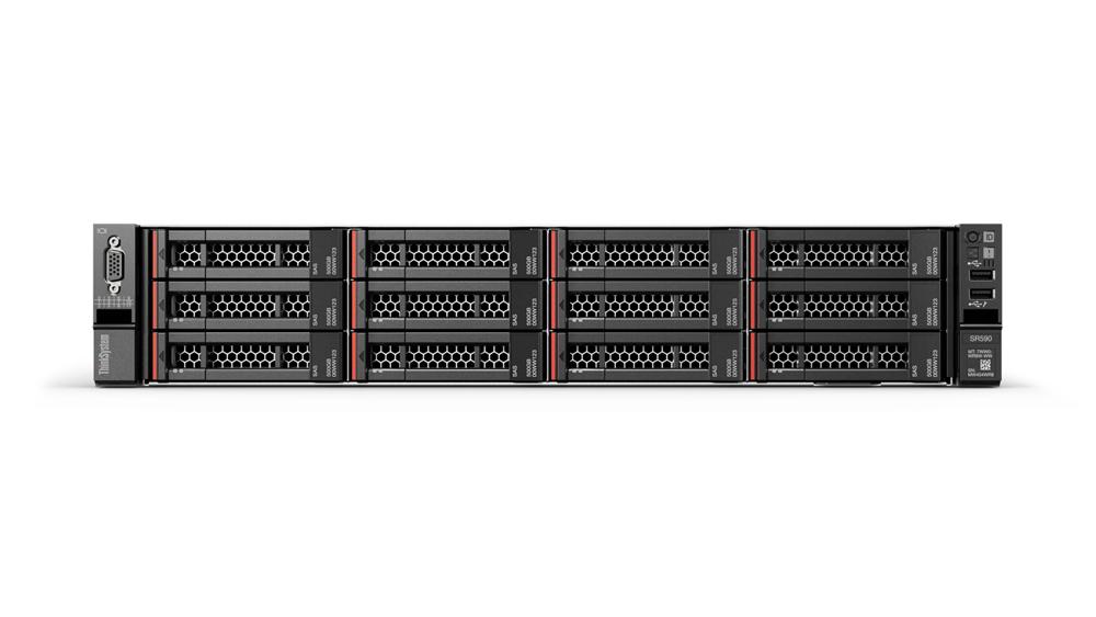 Lenovo ThinkSystem SR590 server 2,2 GHz 16 GB Rack (2U) Intel® Xeon® Silver 750 W DDR4-SDRAM