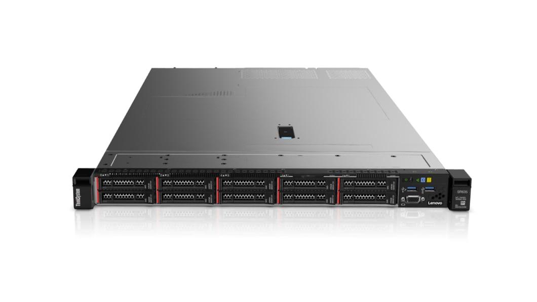Lenovo ThinkSystem SR635 server 87,04 TB 3 GHz 32 GB Rack (1U) AMD EPYC 750 W DDR4-SDRAM