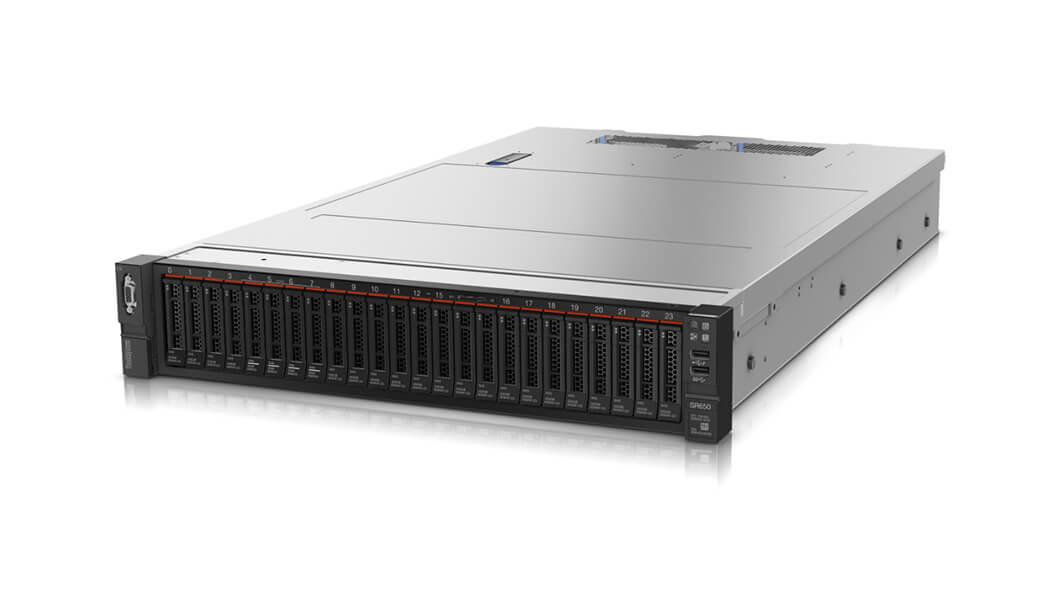 Lenovo ThinkSystem SR650 server 61,44 TB 2,1 GHz 16 GB Rack (2U) Intel® Xeon® Silver 750 W DDR4-SDRAM