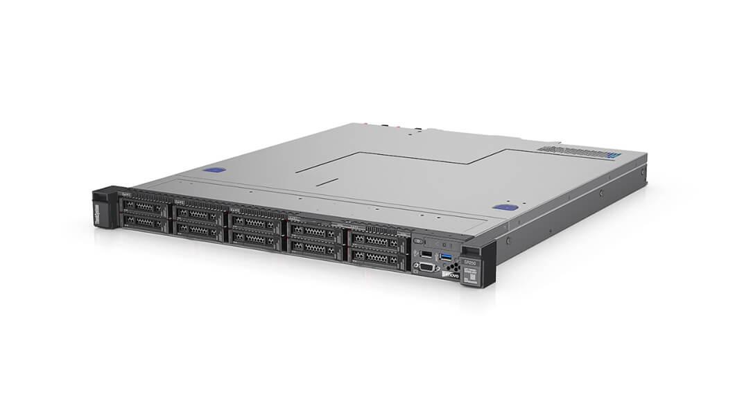 Lenovo ThinkSystem SR250 server 24 TB 3,4 GHz 16 GB Rack (1U) Intel Xeon E 450 W DDR4-SDRAM
