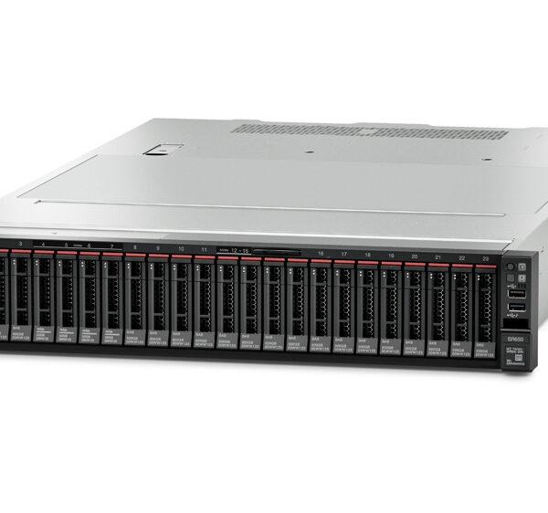 Lenovo ThinkSystem SR650 server 400 TB 2,1 GHz 32 GB Rack (2U) Intel® Xeon® Silver 750 W DDR4-SDRAM