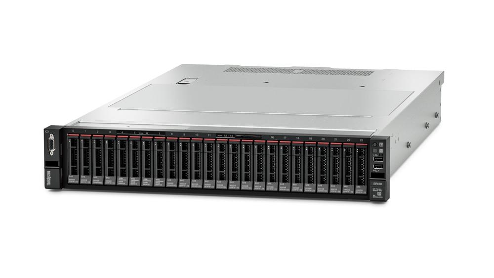 Lenovo ThinkSystem SR650 server 400 TB 2,4 GHz 32 GB Rack (2U) Intel® Xeon® Silver 750 W DDR4-SDRAM
