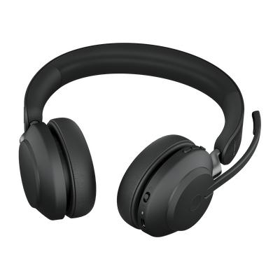 Jabra Evolve2 65, UC Stereo Hodesett Hodebånd USB Type-A Bluetooth Svart