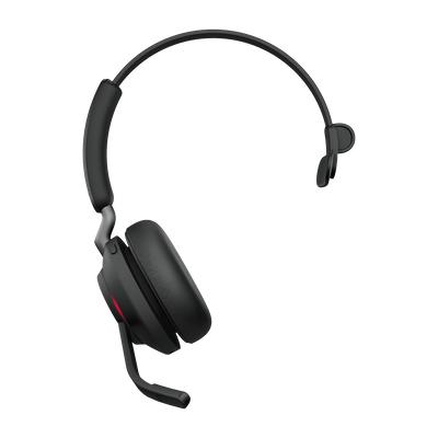 Jabra Evolve2 65, MS Mono Hodesett Hodebånd USB Type-C Bluetooth Svart