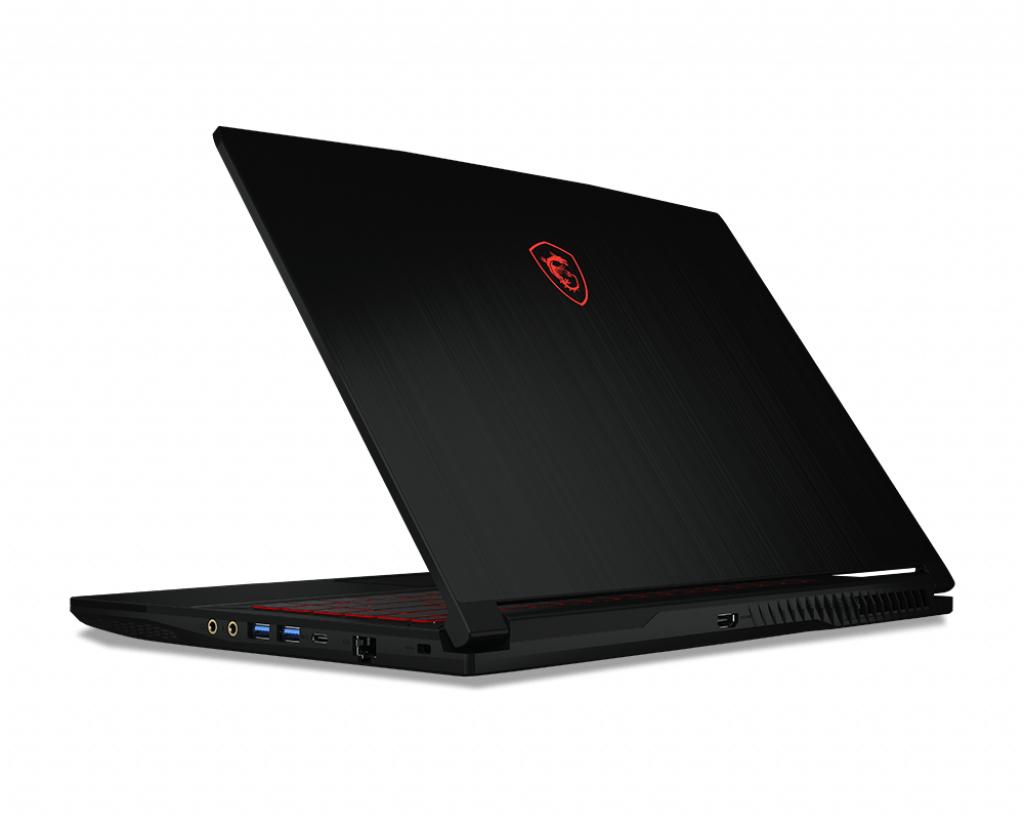 "MSI Gaming GF63 9SC-074NE Thin DDR4-SDRAM Notebook 39,6 cm (15.6"") 1920 x 1080 piksler 9th gen Intel® Core™ i7 16 GB 512 GB SSD NVIDIA® GeForce® GTX 1650 Max-Q Wi-Fi 5 (802.11ac) Windows 10 Home Svart"