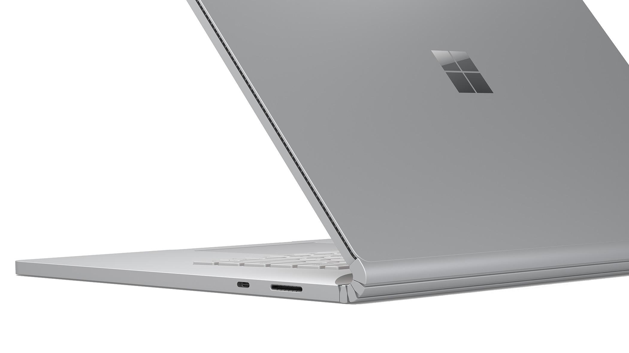 """Microsoft Surface Book 3 LPDDR4x-SDRAM Hybrid (2-in-1) 34,3 cm (13.5"""") 3000 x 2000 piksler Berøringsskjerm 10th gen Intel® Core™ i7 32 GB 1000 GB SSD Wi-Fi 6 (802.11ax) Platina"""