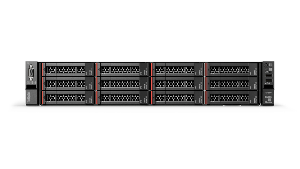 Lenovo ThinkSystem SR590 server 2,4 GHz 32 GB Rack (2U) Intel Xeon E 750 W DDR4-SDRAM