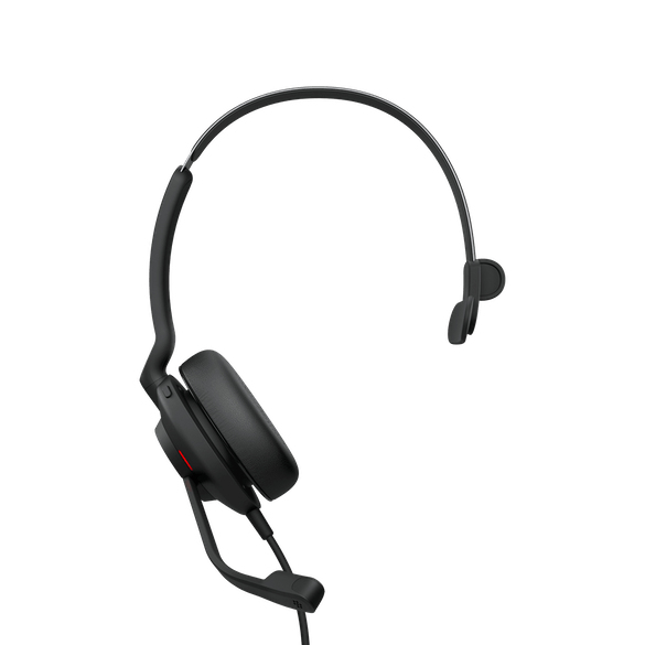 Jabra Evolve2 30, MS Mono Hodesett Hodebånd USB Type-A Svart