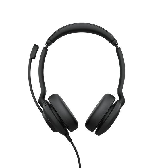 Jabra Evolve2 30, UC Stereo Hodesett Hodebånd USB Type-A Svart