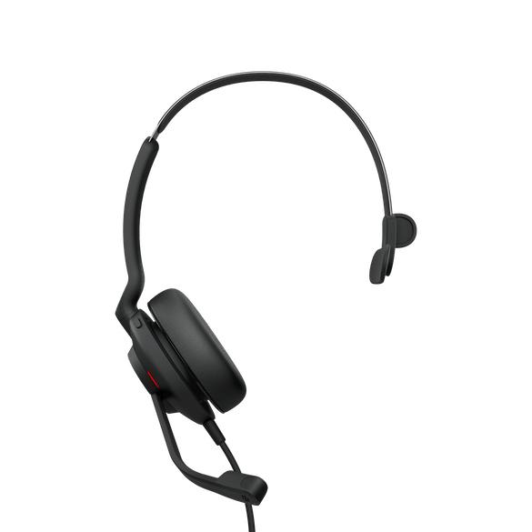 Jabra Evolve2 30, UC Mono Hodesett Hodebånd USB Type-A Svart