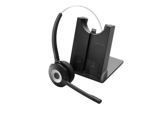 Jabra PRO 935 Hodesett Hodebånd Bluetooth Svart