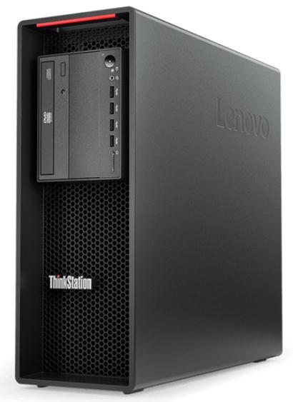 Lenovo ThinkStation P520 DDR4-SDRAM W-2133 Tower Intel® Xeon® 16 GB 256 GB SSD Windows 10 Pro for Workstations Arbeidsstasjon Svart