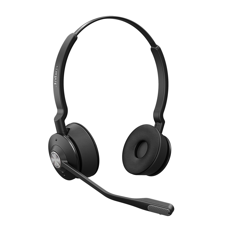 Jabra Engage Hodesett Hodebånd Bluetooth Svart