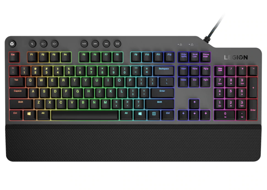 Lenovo Legion K500 RGB keyboard