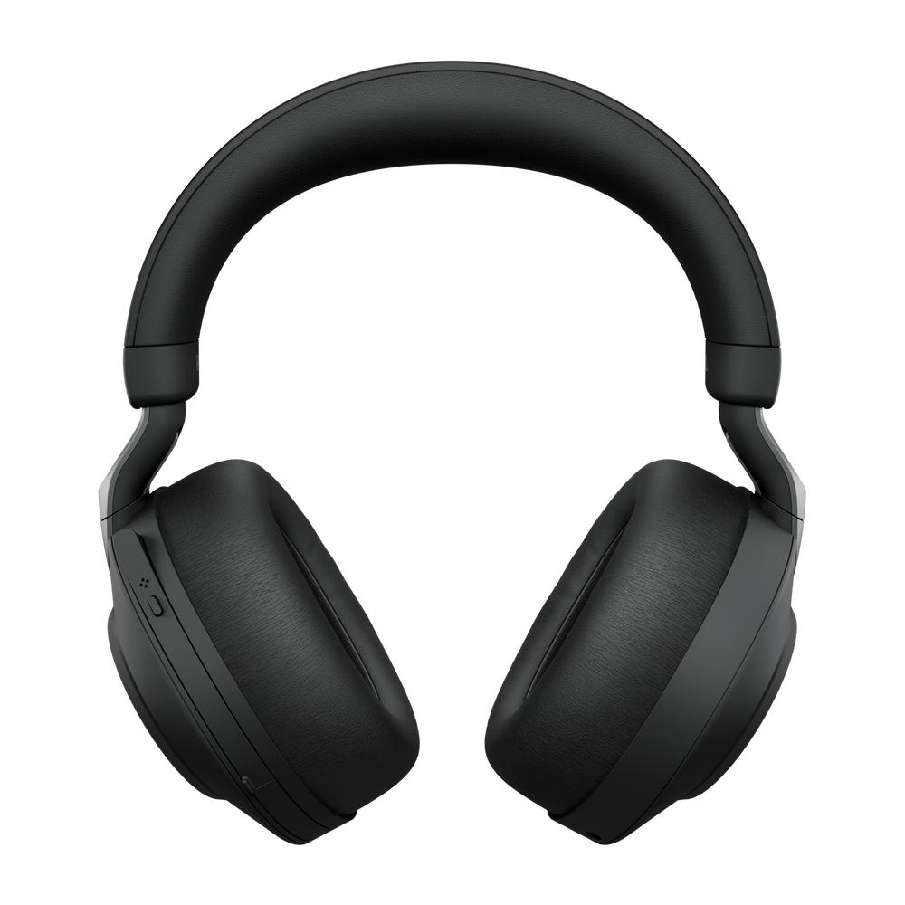 Jabra Evolve2 85, UC Stereo Hodesett Hodebånd 3,5 mm-kontakt USB Type-C Bluetooth Svart