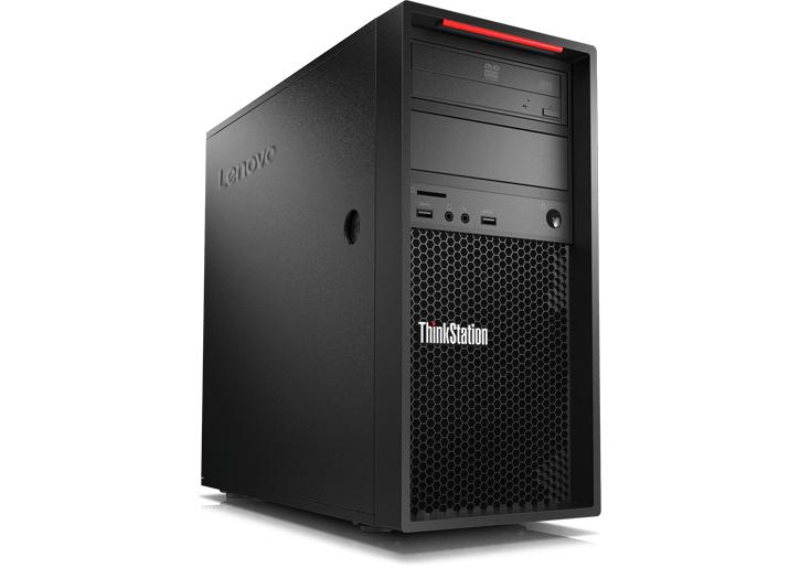 Lenovo ThinkStation P520c DDR4-SDRAM W-2225 Tower Intel® Xeon® W 16 GB 512 GB SSD Windows 10 Pro for Workstations Arbeidsstasjon Svart