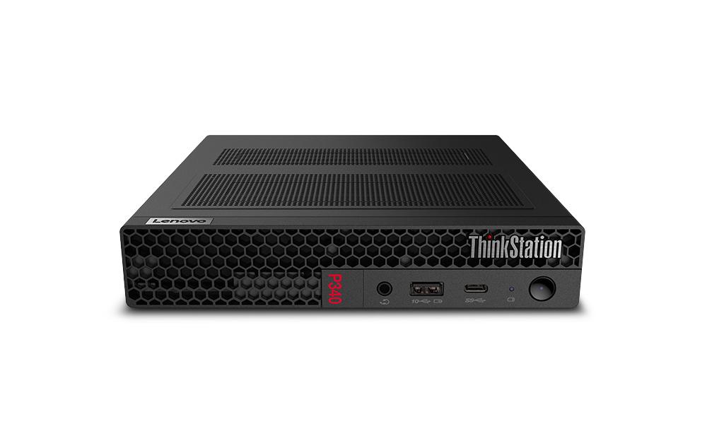 Lenovo ThinkStation P340 DDR4-SDRAM i7-10700 mini PC 10th gen Intel® Core™ i7 16 GB 512 GB SSD Windows 10 Pro Svart