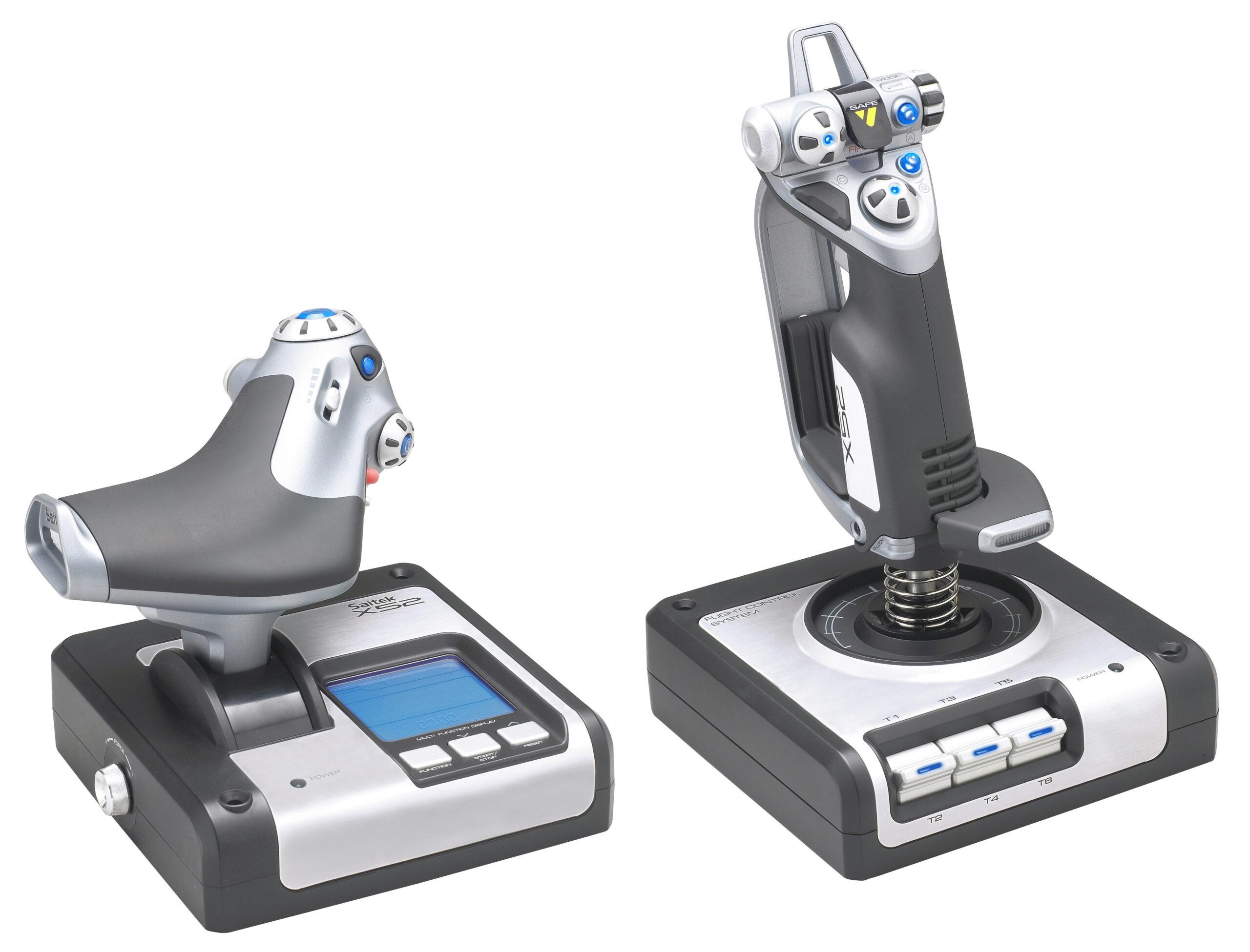 Logitech X52 Flight Control System Joystick/Styrepinne