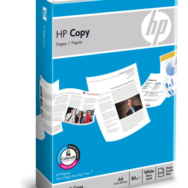 HP kopipapir 80 gsm – 500 ark/A4/210 x 297 mm