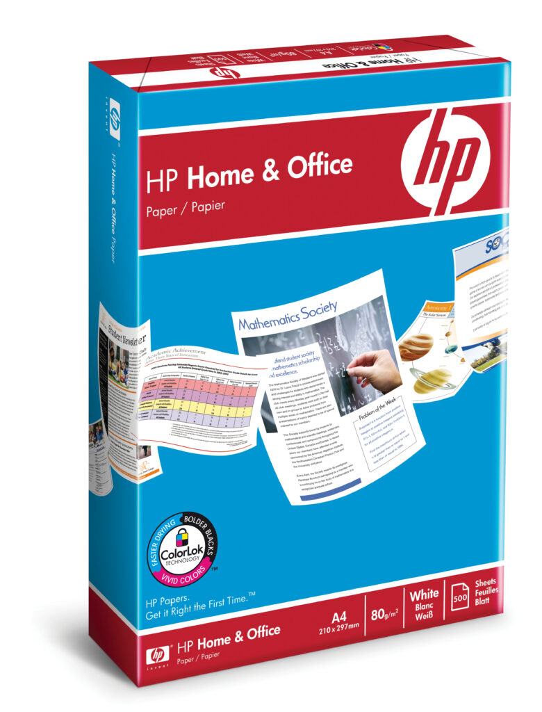 HP Home and Office-papir – 500 ark/A4/210 x 297 mm