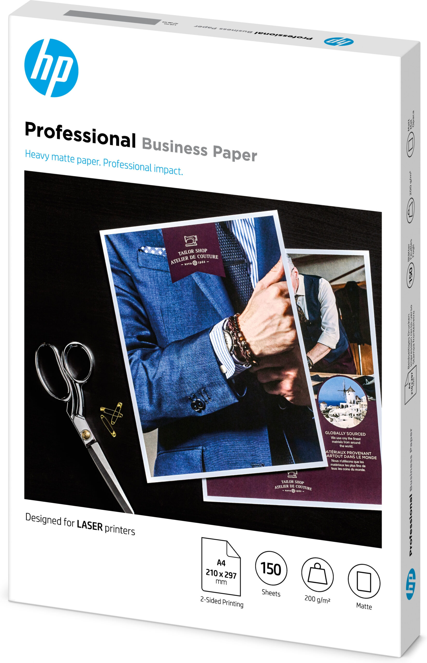 HP Laser Professional forretningspapir – A4, Matt, 200gsm
