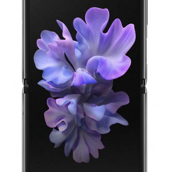 """Samsung Galaxy Z Flip 5G SM-F707B 17 cm (6.7"""") Android 10.0 USB Type-C 8 GB 256 GB 3300 mAh Grå"""
