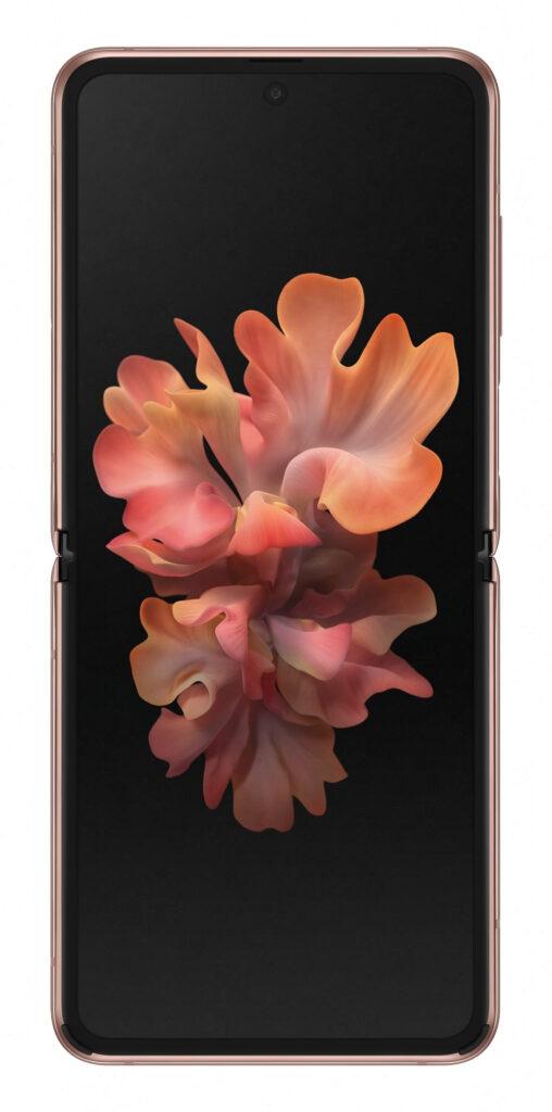 """Samsung Galaxy Z Flip 5G SM-F707B 17 cm (6.7"""") Android 10.0 USB Type-C 8 GB 256 GB 3300 mAh Bronse"""