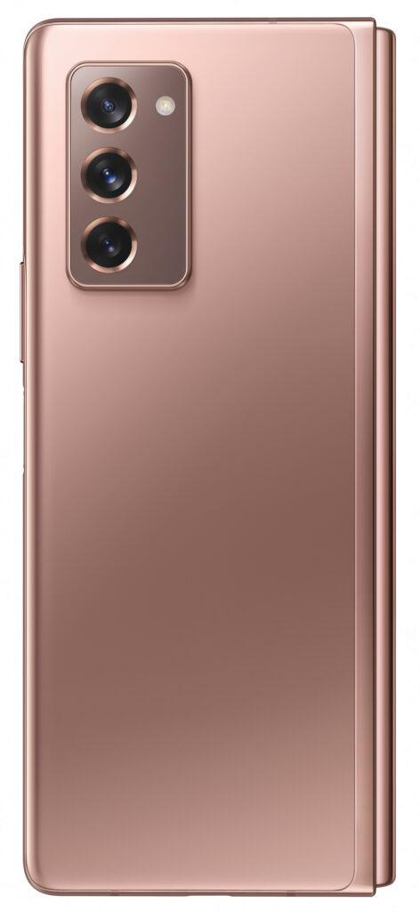 "Samsung Galaxy SM-F916B 19,3 cm (7.6"") Dobbel SIM Android 10.0 5G USB Type-C 12 GB 256 GB 4500 mAh Svart, Bronse"